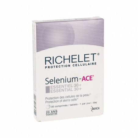 SELENIUM ACE RICHELET ESSENTIEL 30+ BOITE DE 30 COMPRIMES