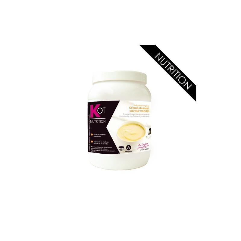 KOT Maxi Pot Crème dessert arôme vanille 400g