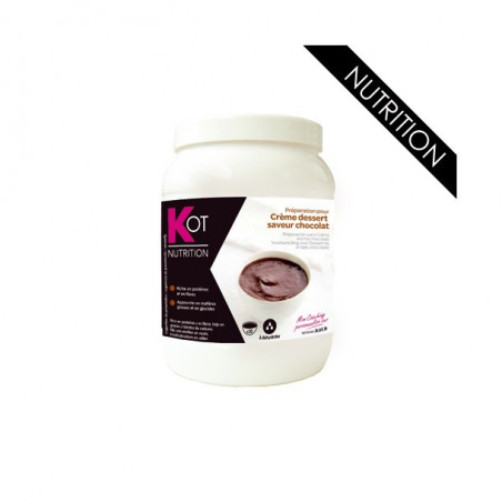 KOT Pot économique crème dessert arôme chocolat 400g