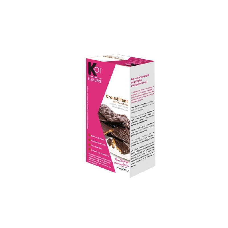 KOT Barre La Croustillante au chocolat blanc et éclats de fruits rouges x 6
