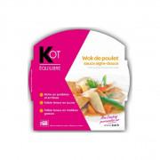 KOT PLAT Wok de poulet sauce aigre-douce 270 g