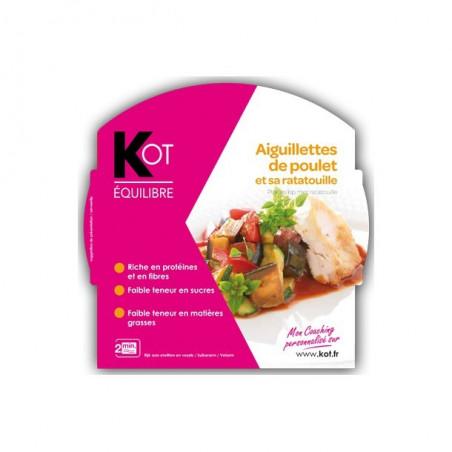 KOT PLAT Aiguillettes de poulet et sa ratatouille 270 g