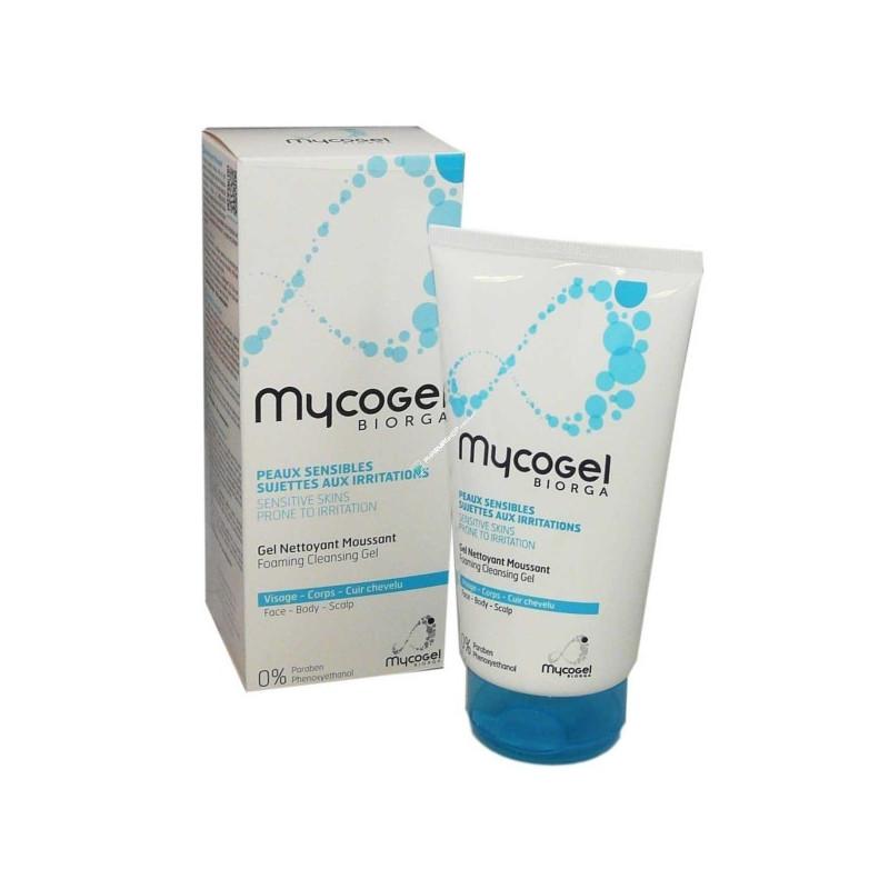 MYCOGEL BIORGA GEL NETTOYANT MOUSSANT TUBE DE 150ML
