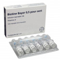 BIOTINE BAYER 0,5 POUR CENT, solution injectable I.M.
