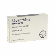 BEPANTHENE BAYER 250 mg/ml, solution injectable I.M. 6 ampoules de 2ml