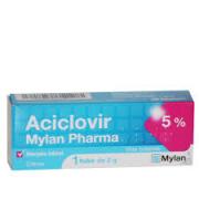 ACICLOVIR 5% MYLAN TUBE DE 2G