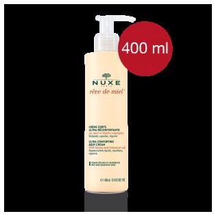 Nuxe Rêve de miel Crème corps ultra réconfortante. Flacon pompe 200ML