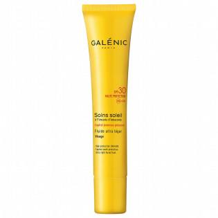 GALENIC SOINS SOLEIL Fluide non gras SPF30 visage Peaux claires à mates. Doseur 40 ml
