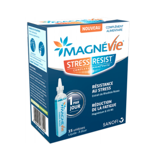 MAGNEVIE STRESS RESIST BOITE DE 15 UNIDOSES