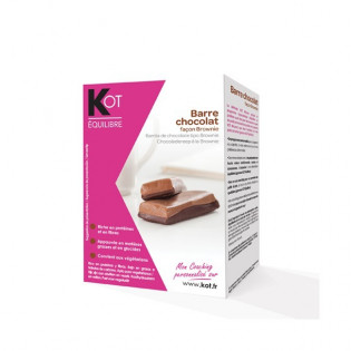KOT Barre chocolatée saveur chocolat x 6