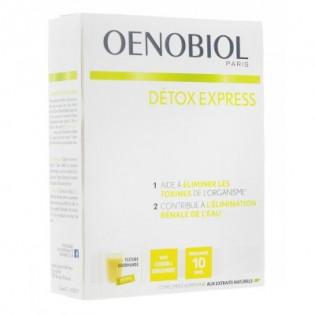 OENOBIOL DETOX EXPRESS BOITE DE 10 STICKS GOUT CITRON ET GINGEMBRE