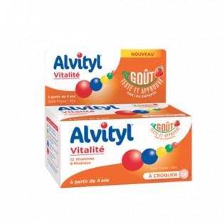 Alvityl Forme équilibre Vitalité. 40 Comprimés à croquer