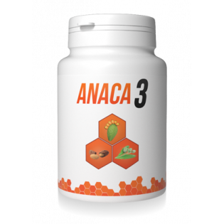 ANACA 3 COMPLEMENT ALIMENTAIRE BOITE 90 GELULES