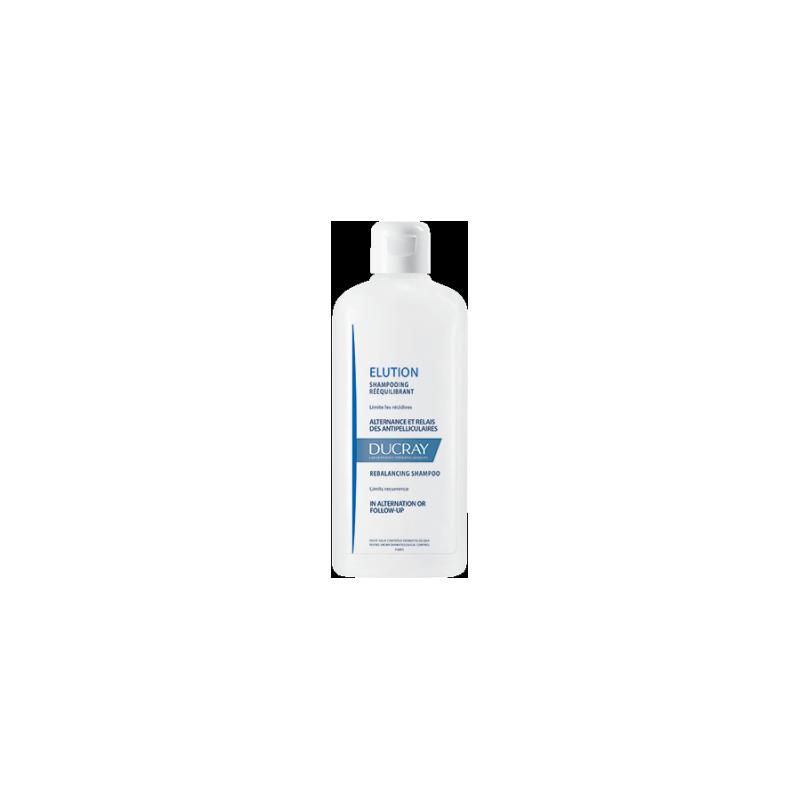 Ducray ELUTION Shampooing cuir chevelu sensible. Flacon de 400 ML