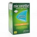 Nicorette Gomme 4mg goût fruits sans sucre par 105
