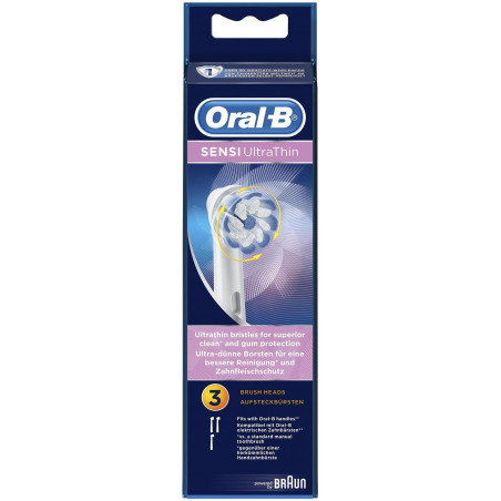 Oral-B SENSI ULTRATHIN 3 Brossettes recharge
