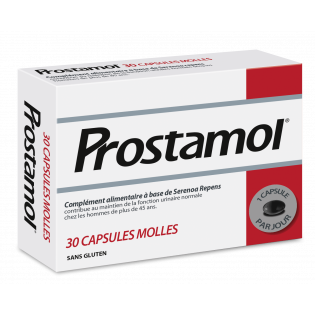 PROSTAMOL COMPLEMENT ALIMENTAIRE 30 CAPSULES MOLLES