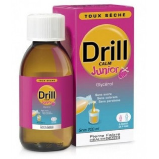 DRILL CALM JUNIOR SIROP TOUX SECHE 200 ML