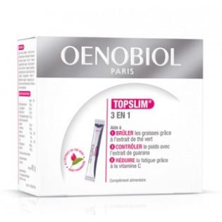Oenobiol Topslim 3en1 Goût framboise 14 sachets