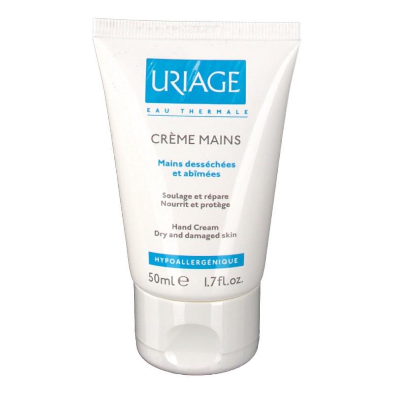 Uriage Crème mains tube 50ML PROMO EXCEPTIONNELLE DATE 30/04/2018