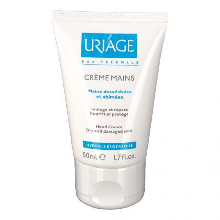 Uriage Crème mains tube 50ML PROMO EXCEPTIONNELLES PÉREMPTION 30/04/2018