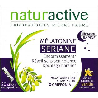 SERIANE MELATONINE 20 STICKS