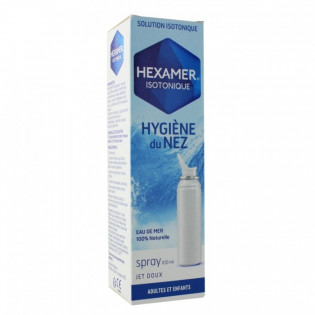 HEXAMER ISOTONIQUE HYGIENE DU NEZ SPRAY JET DOUX 100ML