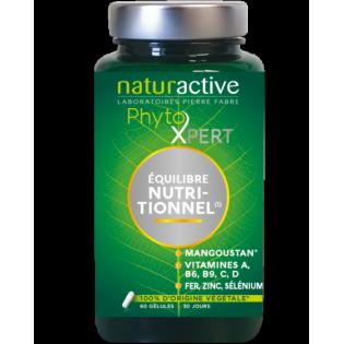 NATURACTIVE PhytoXpert ĒQUILBRE NUTRITIONNEL 60 gélules