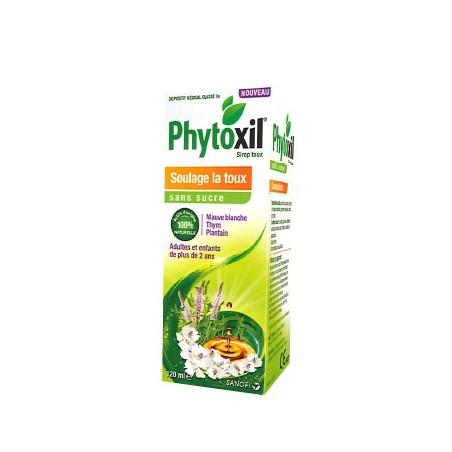PHYTOXIL SIROP SANS SUCRE SOULAGE LA TOUX FLACON 120ML