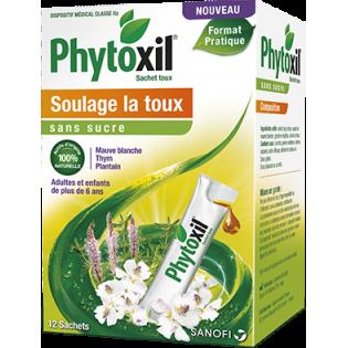 PHYTOXIL SACHET TOUX SANS SUCRE BOITE DE 12 SACHETS