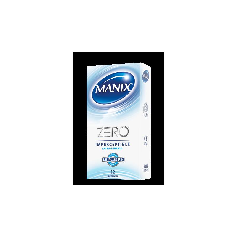 Manix Infini Sensitivité Extrême Boîte de 10 préservatifs