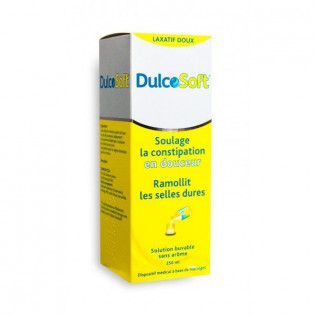 DULCOSOFT SOLUTION BUVABLE SANS AROME 250ML
