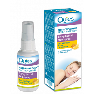 QUIES ANTI RONFLEMENT SPRAY BUCCAL GOUT MIEL CITRON