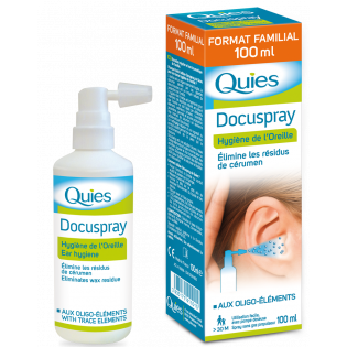 QUIES DOCUSPRAY HYGIENE DE L'OREILLE 100ML