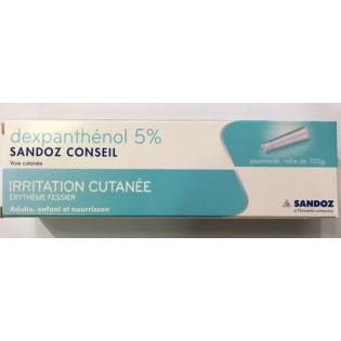 DEXPANTHENOL 5% SANDOZ POMMADE TUBE DE 100G