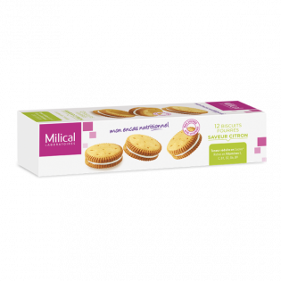 MILICAL 12 BISCUITS FOURRES SAVEUR CHOCOLAT
