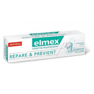 ELMEX SENSITIVE PROFESSIONAL DENTIFRICE REPARE ET PREVIENT 75ML