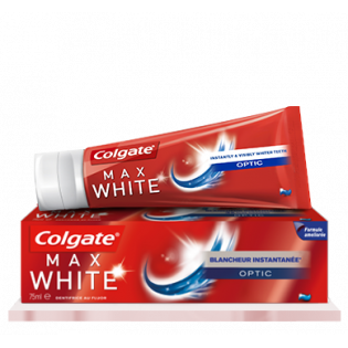 DENTIFRICE COLGATE MAX WHITE OPTIC ADULTE 75ML
