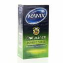 Manix Endurance. Boîte de 12 préservatifs