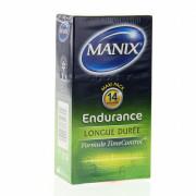 Manix Endurance. Boîte de 14 préservatifs