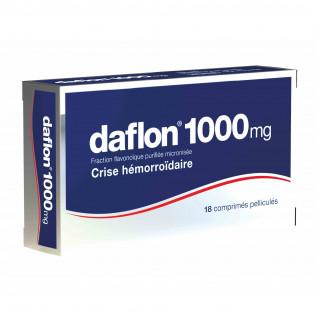 DAFLON 1000MG 18 COMPRIMES PELLICULES