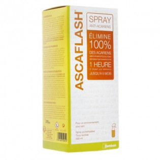 ASCAFLASH SPRAY ANTI ACARIENS POUR TEXTILES 500ML