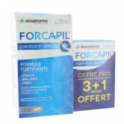 forcapil arkopharma cheveux et ongles 3mois + 1mois offert