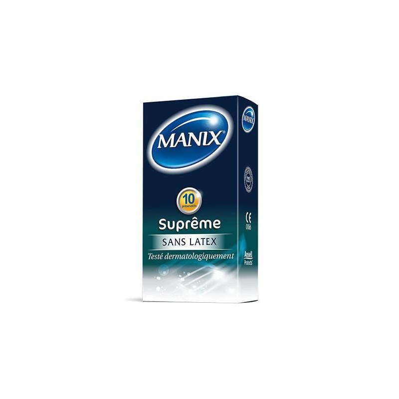 Manix Suprême sans Latex. Boîte 10 préservatifs