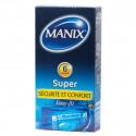 Manix Super Easy Boîte de 6 Préservatifs