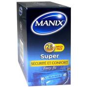 MANIX SUPER. 28 PRESERVATIFS