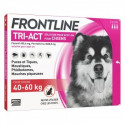 FRONTLINE TRI ACT 40-60 KG 3 PIPETTES DE 6ML