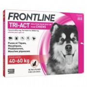 FRONTLINE TRI ACT CHIENS 40-60 KG 3 PIPETTES DE 6ML