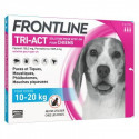 FRONTLINE TRI ACT CHIENS 10-20 KG 3 PIPETTES DE 2ML