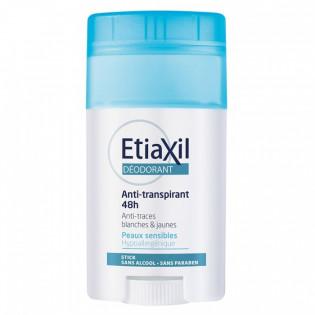 ETIAXIL ANTI TRANSPIRANT 48H PEAUX SENSIBLES STICK 40ML
